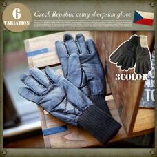チェコ軍タイプ シープスキングローブ MILITARY ITEM