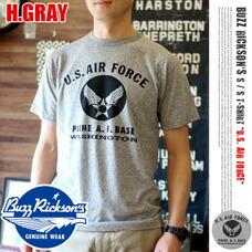 T-SHIRT U.S. AIR FORCE 2015 H.GRAY BUZZ RICKSON'S