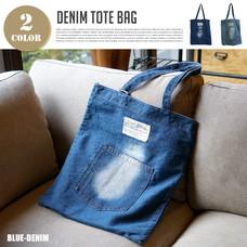 DENIM TOTE BAG 【2variation】