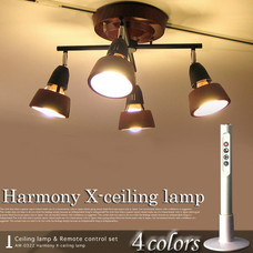 Harmony X-Ceiling lamp 【4color】