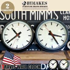 TRAVIS WALL CLOCK BIMAKES