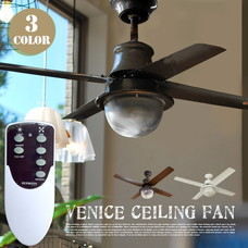 VENICE CEILING FAN 【3color】