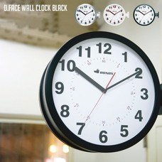DOUBLE FACE WALL CLOCK 【3variation】
