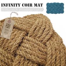 infinity coir mat 40×60cm 【2color】