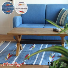 Arrow rug 130x190cm 【2color】