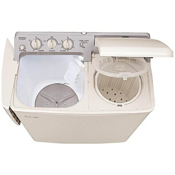 日立HITACHIPS-H45L-CP2槽式洗濯機青空パインベージュ[洗濯4.5kg/乾燥機能無/上開き][洗濯機一人暮らしPSH45L]
