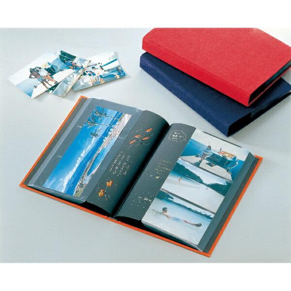 セキセイSEKISEIレミニッセンスポケットアルバム(Lサイズ246枚収納/ネイビーブルー)XP-2101-NB[XP2101]