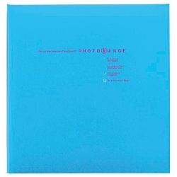 ナカバヤシNakabayashiフエルアルバム白フリー台紙20枚(Lサイズ/ブルー)フォトレンジ20L-92-B[20L92B]