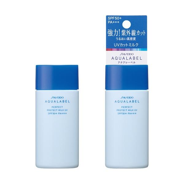 資生堂shiseidoAQUALABEL(アクアレーベル)パーフェクトプロテクトミルクUV(45ml)[日焼け止め]