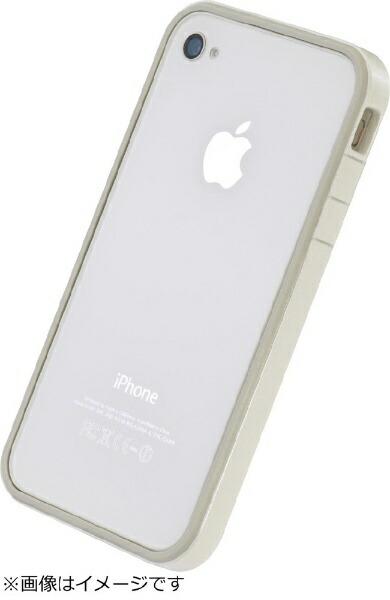パワーサポートPOWERSUPPORTiPhone4S/4用フラットバンパーセット(パールホワイト)PHC-60[PHC60]