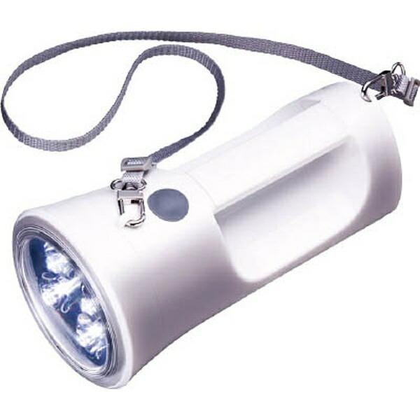 東芝TOSHIBA懐中電灯ホワイトKFL-1800W[LED/単1乾電池×4/防水][KFL1800W]