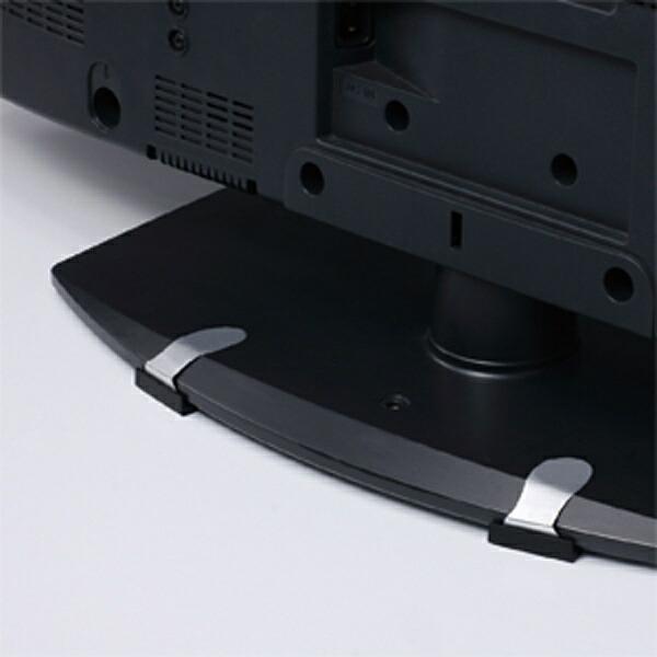サンワサプライSANWASUPPLY耐震ストッパー[Mサイズ/テレビ46型以下向け]QL-80黒
