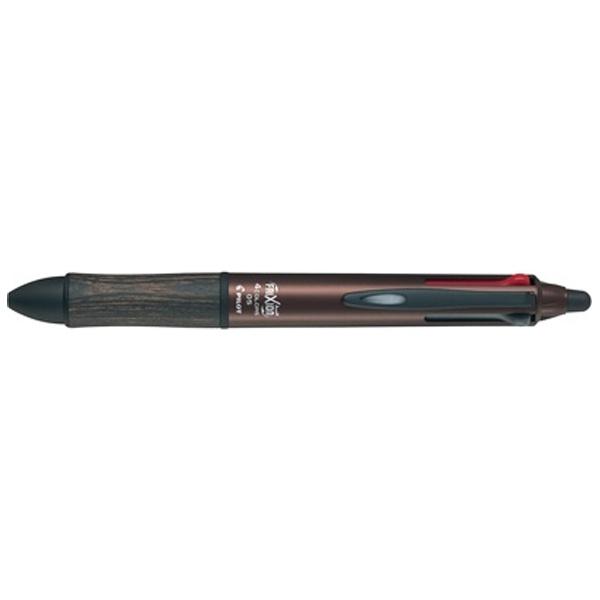 パイロットPILOT[ゲルインキボールペン]フリクションボール4(消えるボールペン)(インク色:4色)ウッドブラウンLKFB3SEFBN
