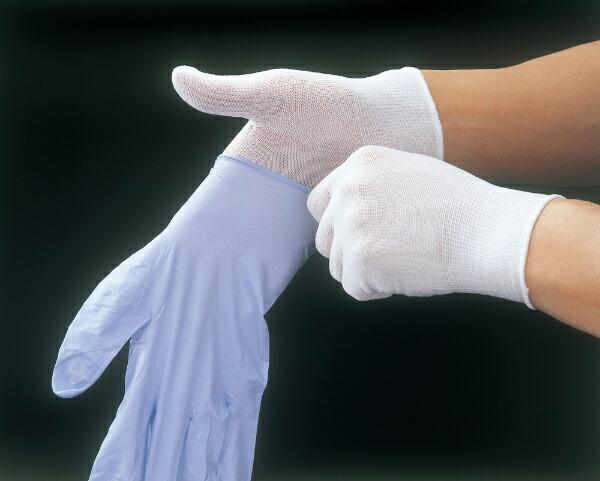 ショーワグローブSHOWAB0910ナイロンインナー手袋20枚入MサイズB0910M