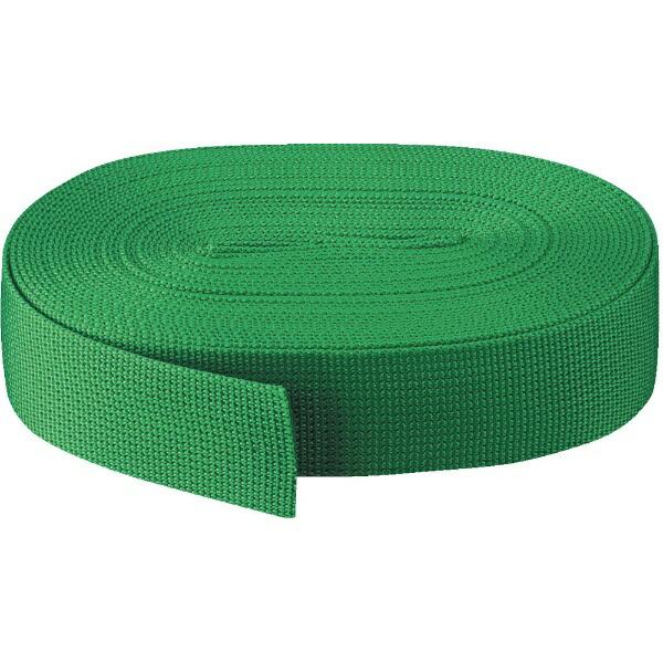 トラスコ中山PPベルト幅40mmX長さ10m緑PPB4010