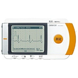 オムロンOMRONHCG-801心電計[HCG801]【高度管理医療機器】【ribi_rb】