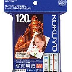 """コクヨKOKUYOIJP用写真用紙""""印画紙原紙高光沢・厚手(L判・120枚)白色度98%程度KJ-D11L-120[KJD11L120]【wtcomo】"""