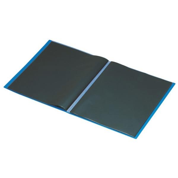 セキセイSEKISEIエクシヴクリヤーホルダー(A4判・20ポケット/ブルー)XIV-2502-BU[XIV2502]