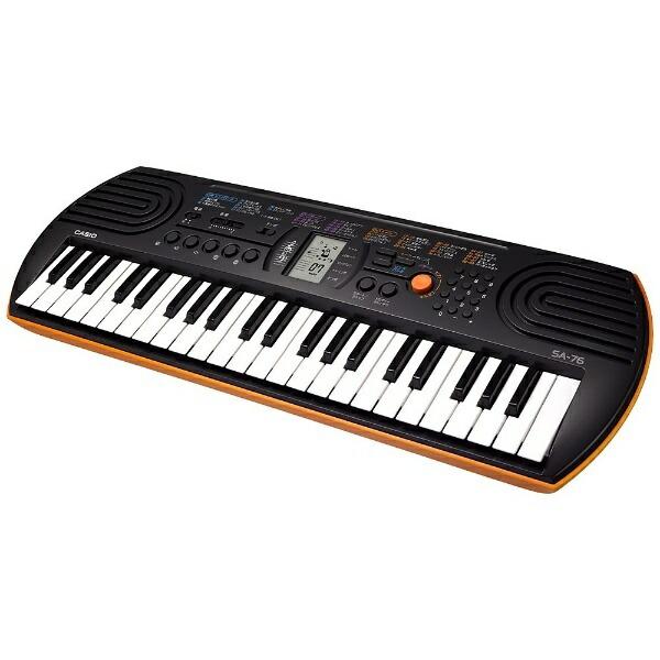 カシオCASIOミニキーボード(44ミニ鍵盤)SA-76[44ミニ鍵盤][SA76]