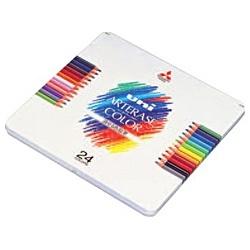 三菱鉛筆MITSUBISHIPENCIL[色鉛筆]ユニアーテレーズカラー(消せる色鉛筆)24色UAC24C[UAC24C]