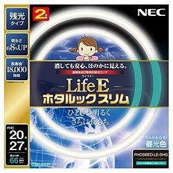NECエヌイーシーFHC66ED-LE-SHG丸形スリム蛍光灯(FHC)LifeEホタルックスリム[昼光色][FHC66EDLESHG]