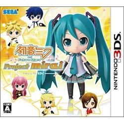 セガSEGA初音ミクandFutureStarsProjectmirai通常版【3DSゲームソフト】