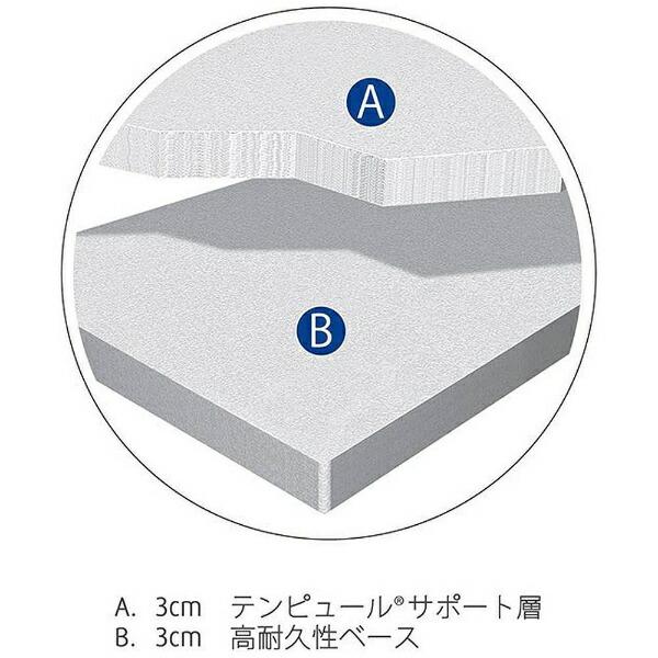 テンピュールTEMPURFutonSimpleシングルサイズ(95×195×6cm)