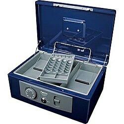 アスカASKAMCB630手提金庫A4サイズAsmix(アスミックス)ブルー[鍵式+ダイヤル式]