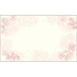 ササガワSASAGAWA〔インクジェット〕カード紙(名刺サイズ×30枚)ロージー16-1635[161635]