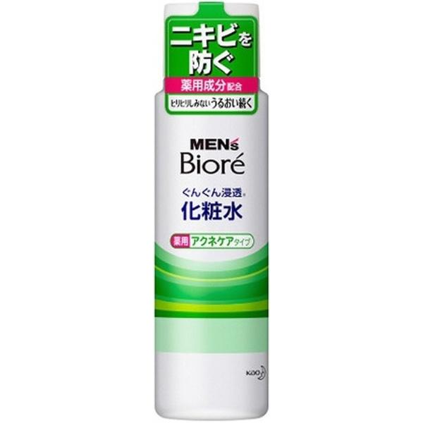 花王KaoMEN'sBiore(メンズビオレ)ぐんぐん浸透化粧水薬用アクネケアタイプ(180ml)【rb_pcp】