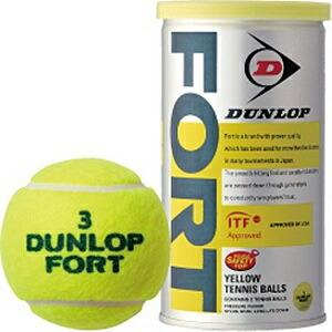ダンロップDUNLOPプレッシャーライズドテニスボールFORT(2個入り)DFDYL2TIN