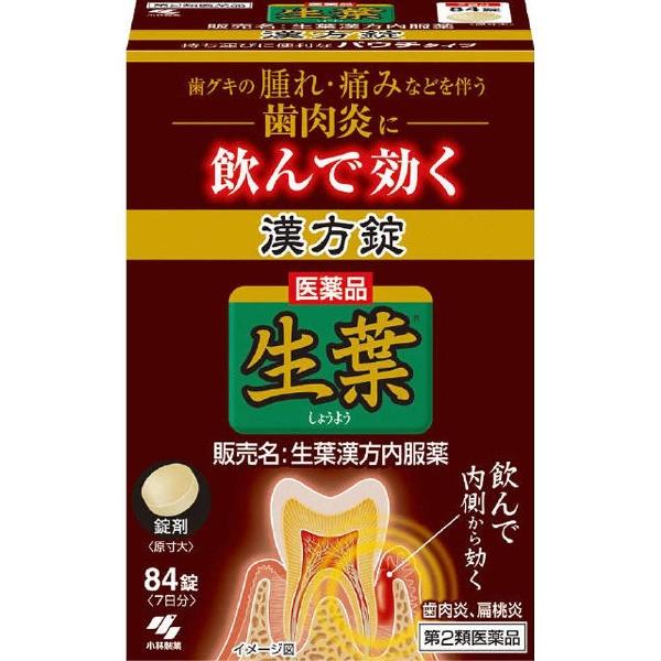 【第2類医薬品】生葉錠(84錠)【wtmedi】小林製薬Kobayashi