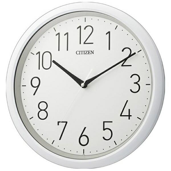 シチズンCITIZEN掛け時計(防滴防塵タイプ)「スペイシーアクア799」8MG799-003[8MG799003]