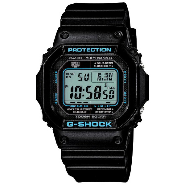 カシオCASIOG-SHOCK(G-ショック)「BLACK×BLUESeries(ブラック×ブルーシリーズ)」GW-M5610BA-1JF[GWM5610BA1JF]【point_rb】