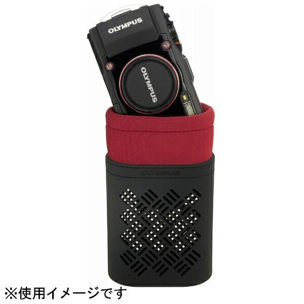 オリンパスOLYMPUSソフトカメラケース(レッド)CSCH-121[CSCH121RED]
