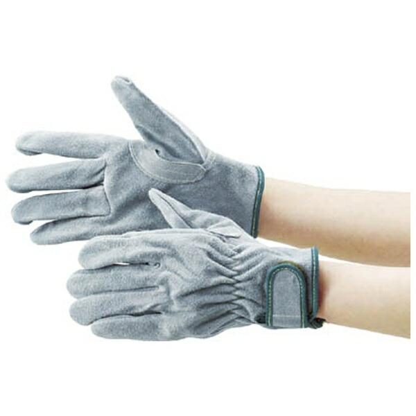 トラスコ中山オイル加工革手袋マジック式フリーサイズTYK717PW