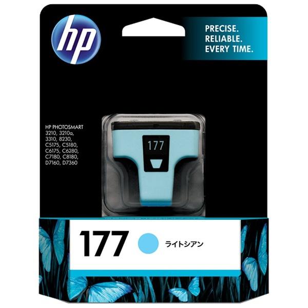 HPヒューレット・パッカードC8774HJ純正プリンターインク177ライトシアン[C8774HJ]