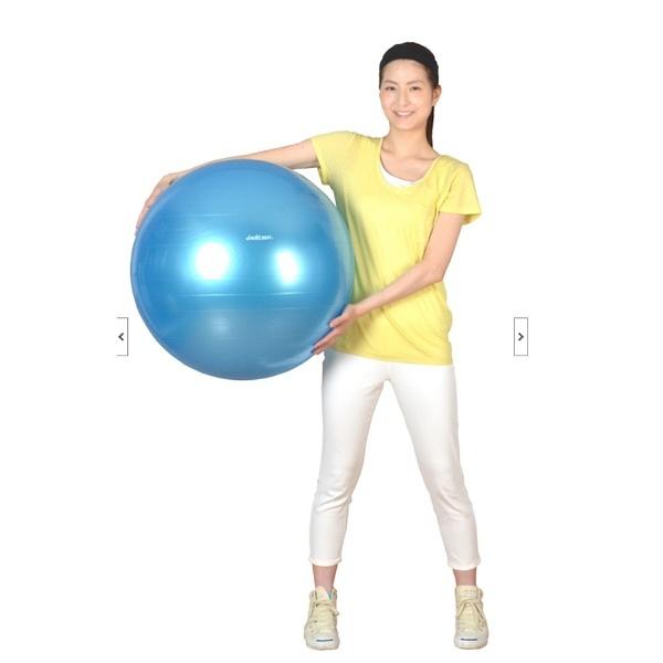 ラッキーウエストLuckyWestバランスボールYOGABALL(シャンパンゴールド/φ55cm)LG-314[LG314]