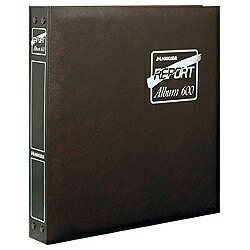 ハクバHAKUBAアルバム「レポートアルバム600」(ELサイズ/ブラウン)520217