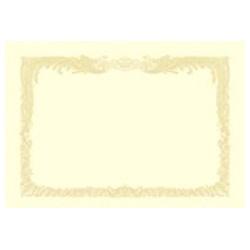 ササガワSASAGAWAOA賞状用紙縦書用(A3サイズ・10枚)クリーム10-1087[101087]
