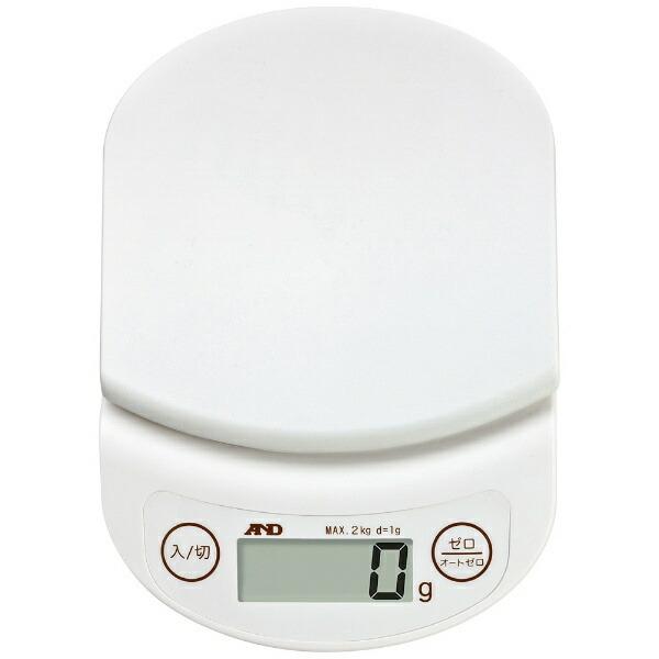A&Dエー・アンド・デイデジタルホームスケール(2kg)UH-3302-Wホワイト[UH3302W]