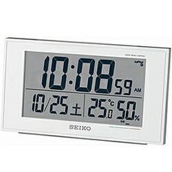 セイコーSEIKO電波目覚まし時計SQ758W[デジタル/電波自動受信機能有][SQ758W]