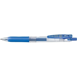 ゼブラZEBRA[ゲルインクボールペン]サラサクリップ0.7(ボール径:0.7mm、インク色:ペールブルー)JJB15-PB[JJB15PB]
