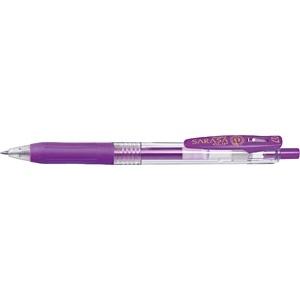 ゼブラZEBRA[ゲルインクボールペン]サラサクリップ0.7(ボール径:0.7mm、インク色:紫)JJB15-PU[JJB15PU]