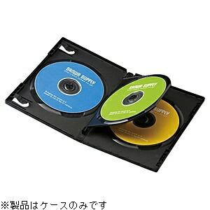 サンワサプライSANWASUPPLYBlu-ray/DVD/CD対応トールケース3枚収納×10ブラックDVD-TN3-10BK[DVDTN310BK]