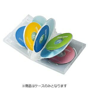 サンワサプライSANWASUPPLYDVD/CD対応トールケース8枚収納×3クリアDVD-TW8-03C[DVDTW803C]