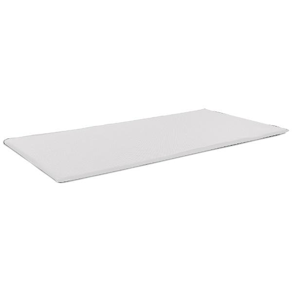 オーシンOSHINファインエアーポータブルシングルサイズ(95×200×2cm/ホワイト)