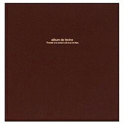 ナカバヤシNakabayashi100年台紙「ドゥファビネ」(Lサイズ/ブラウン)アH-LD-191-S[アHLD191S]