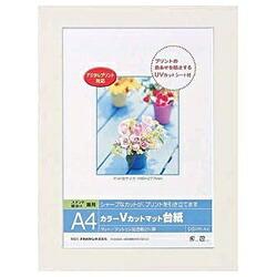 ナカバヤシNakabayashiVカットマット台紙Digio(A4/ホワイト)DGVM-A4-W[DGVMA4W]