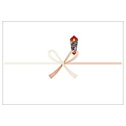 ササガワSASAGAWAパック入のし紙A4判祝(A4・6枚)2-506[2506]